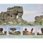 Markidel (ja blokil) olevad kaljud on kaetud kivipuruga